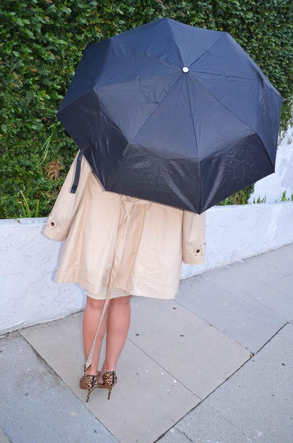 June & Hudson Metallic Pencil Skirt-8