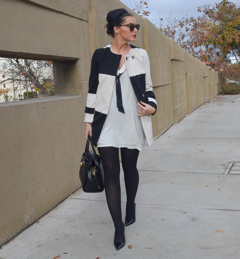 Black and white coat zara – Fashionable jacket 2017 photo blog