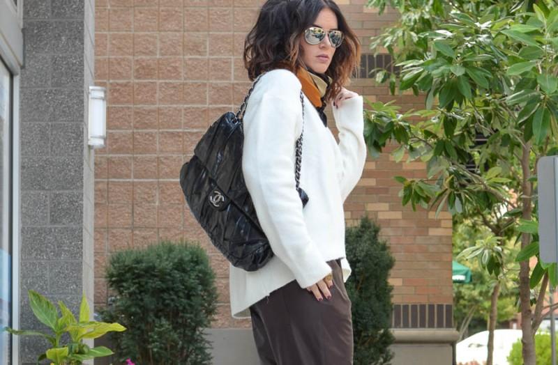 Zara Leather Trouser in Wine-24