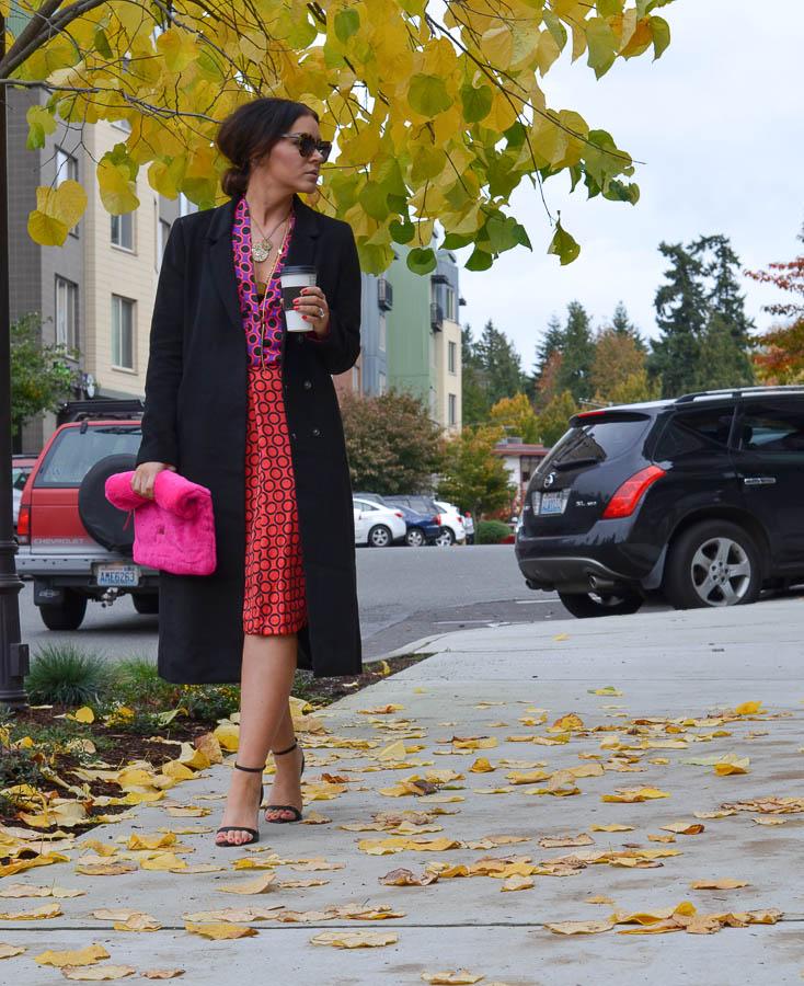 H&M Patterned Dress-7