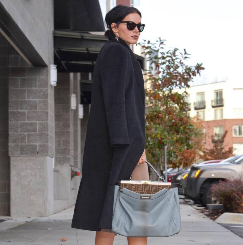 ASOS Pencil Skirt in Ponte Knit-5