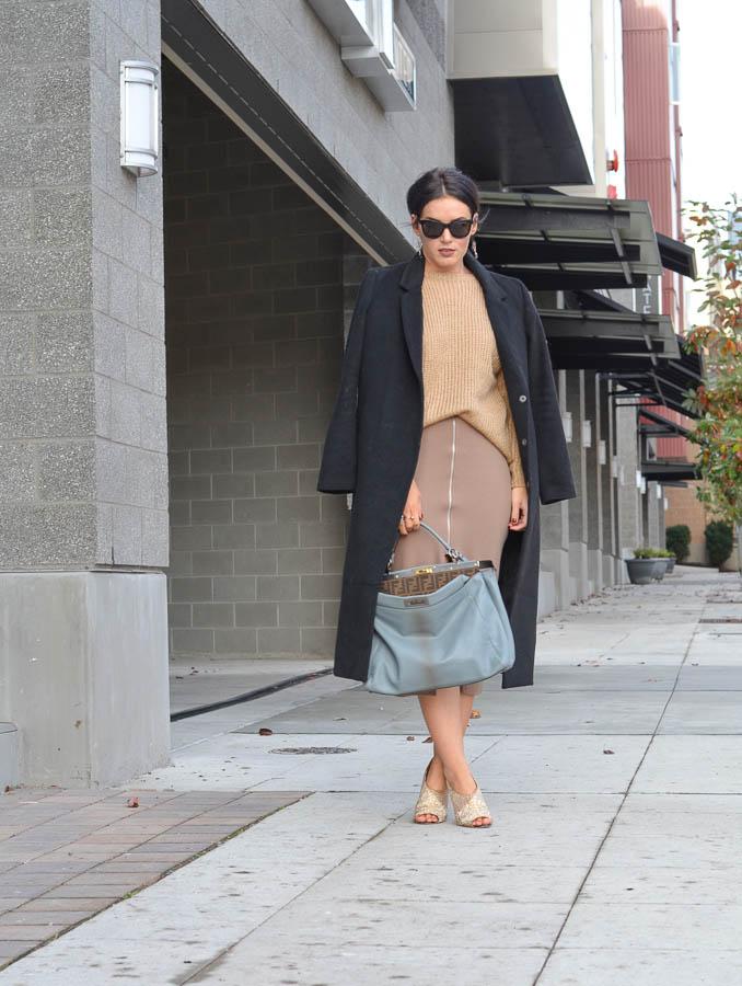 ASOS Pencil Skirt in Ponte Knit-8