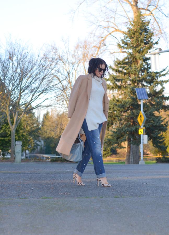 DIY Pearl Embellished Jeans-6