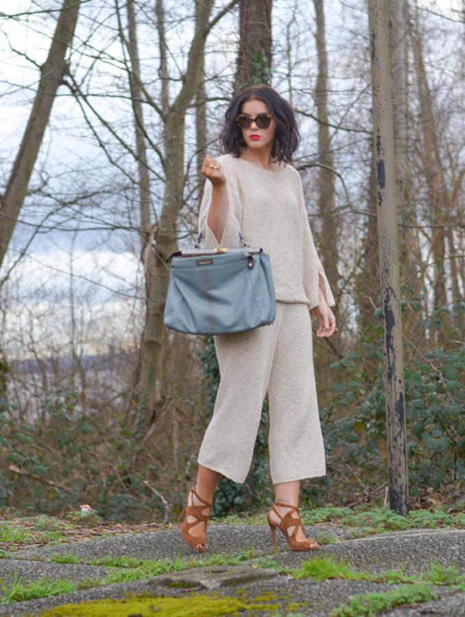 Zara Knit Pants and Sweater-2