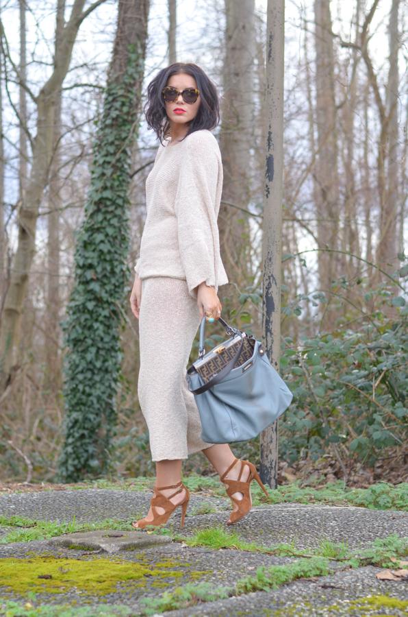 Zara Knit Pants and Sweater-3