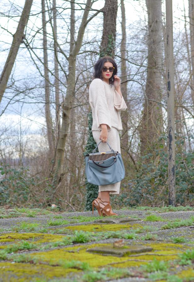 Zara Knit Pants and Sweater-9