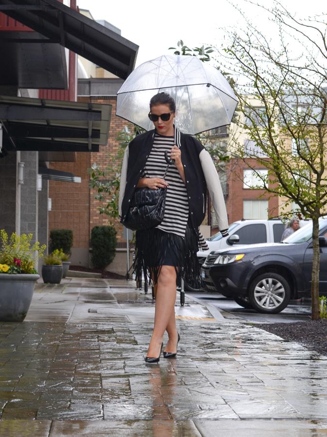 BCBG Rachelle Leather Fringe Skirt-12