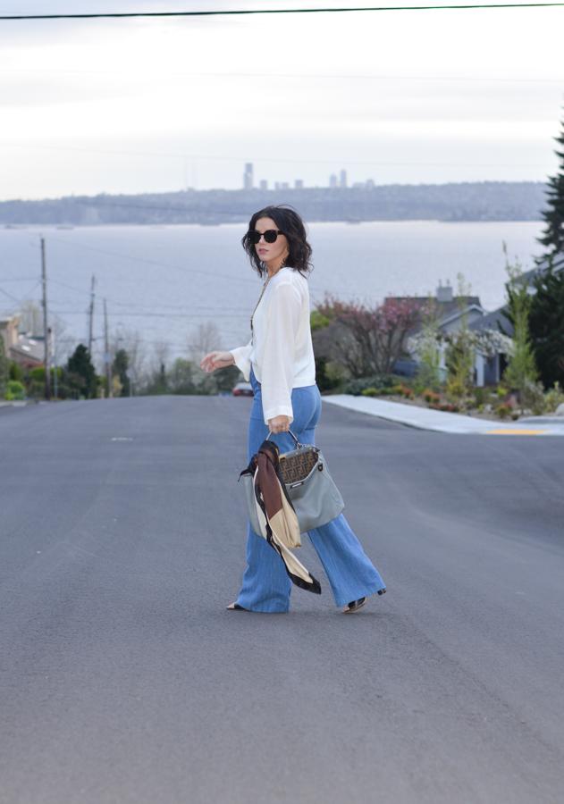 Zara Wide Leg High Waisted Trouser Jean-6