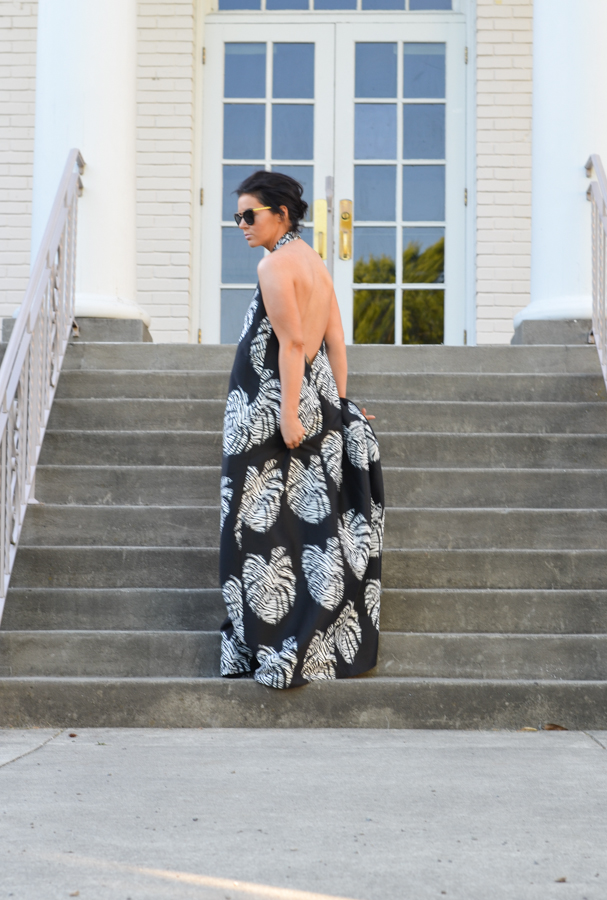 Solace London Gloria Maxi In Palm-2