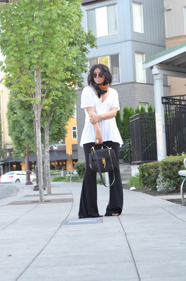 Zara Studio Flare Pant Ellery Black Flare Pant