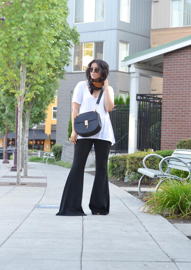 Zara Studio Flare Ellery Flare Pant