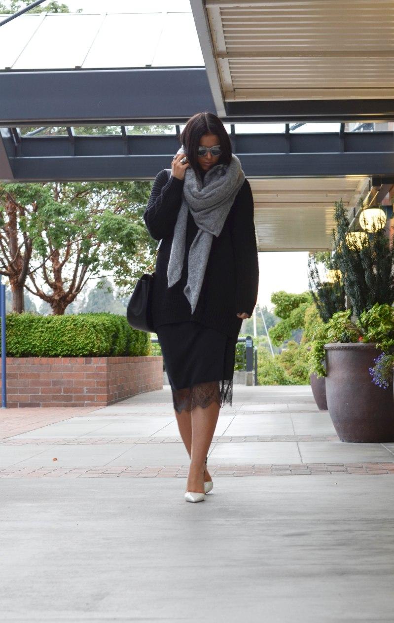 Trouve Slip Skirt (12 of 1)