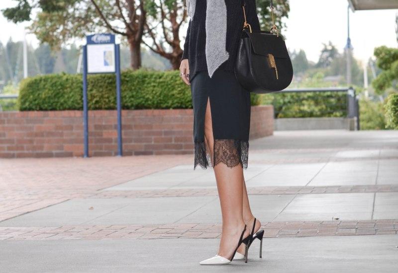 Trouve Slip Skirt (2 of 1)