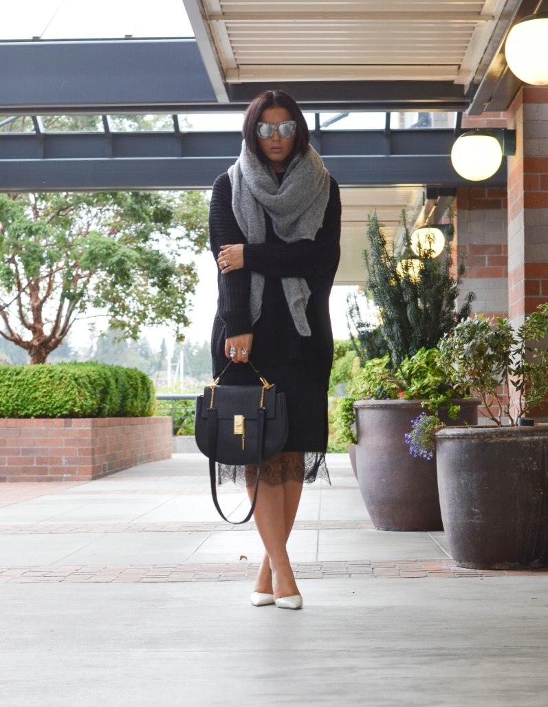 Trouve Slip Skirt (3 of 1)