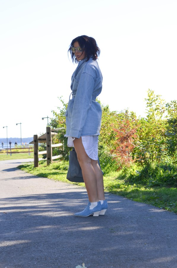 Asilio the Label The Heff Denim Trench (2 of 1)