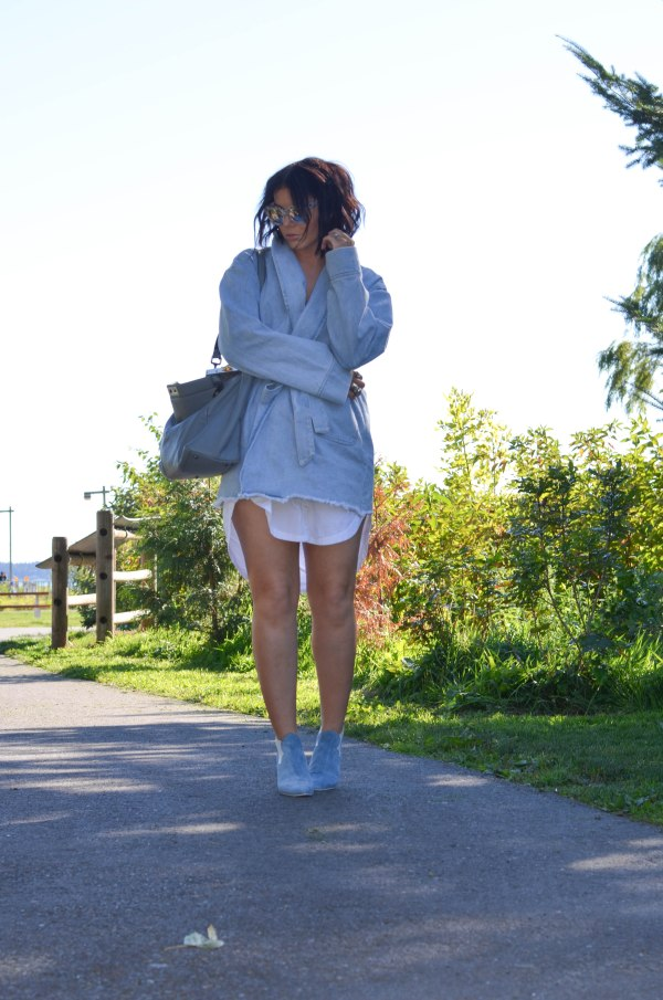 Asilio the Label The Heff Denim Trench (5 of 1)
