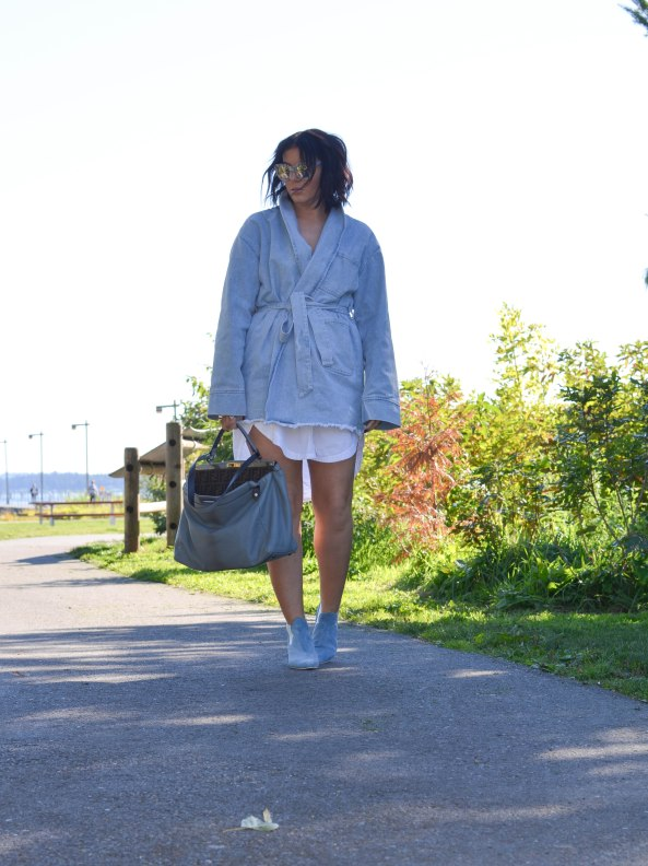 Asilio the Label The Heff Denim Trench (6 of 1)